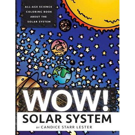 Wow  Coloring Series  Solar System  Fun   Educational Coloring Books Focused On Science  Art  And Mathematics