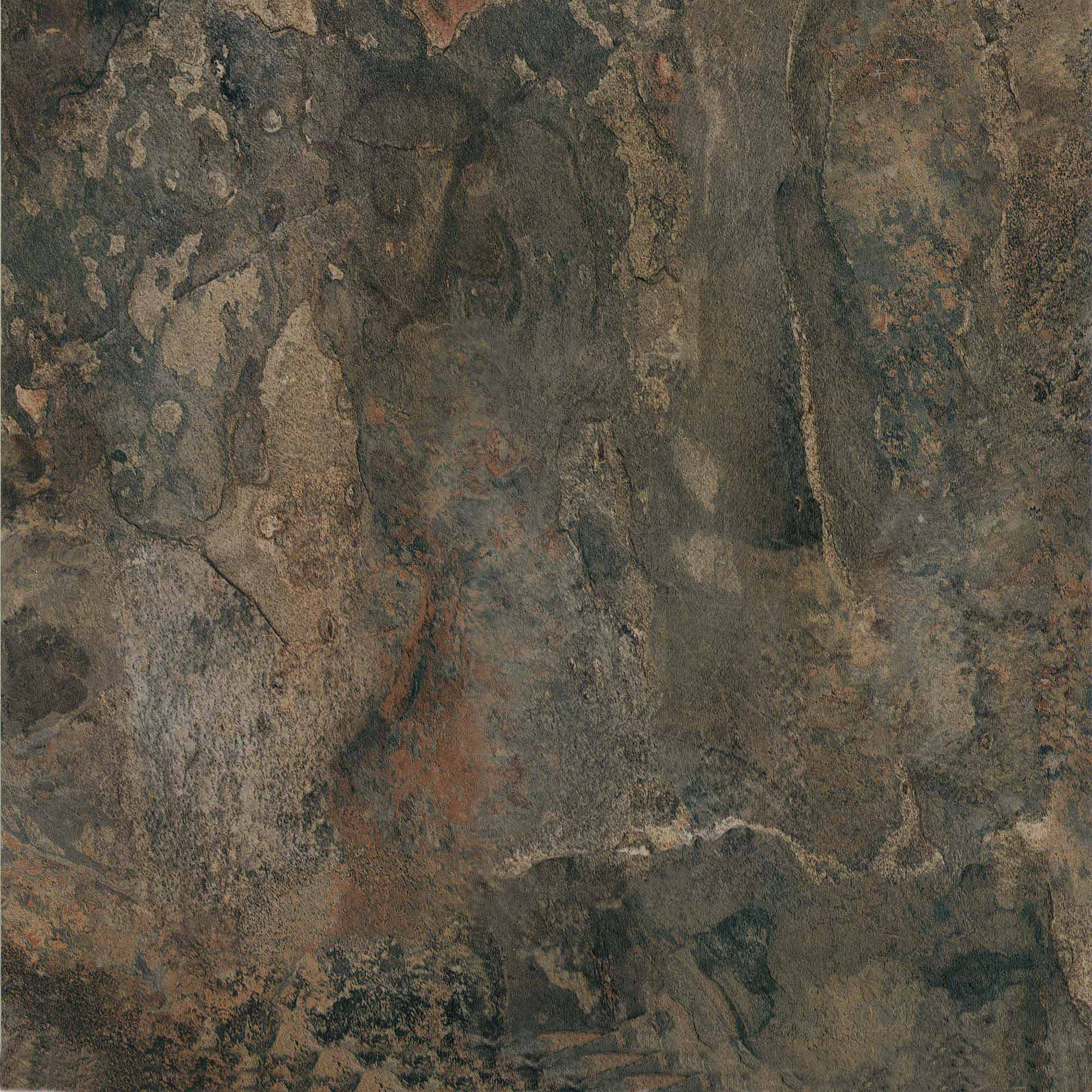NEXUS Dark Slate Marble 12x12 Self Adhesive Vinyl Floor Tile - 20 Tiles/20 Sq.Ft.