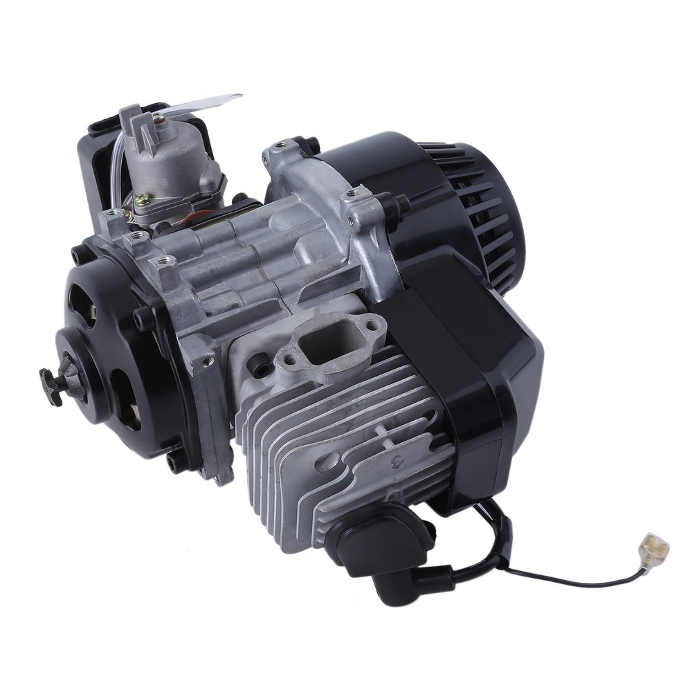 50cc Black Motorized Bicycle Accessory 鈥?2 Stroke Gas Powered Bike Motor Engine