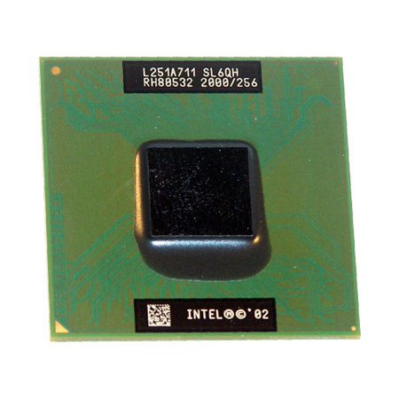 SL6QH Socket PPGA478 INTEL MOBILE CELERON 2GHZ 400MHZ 256KB SOCKET PPGA478 LAPTOP PROCESSOR CPU SL6QH Laptop Processors - Used Very Good