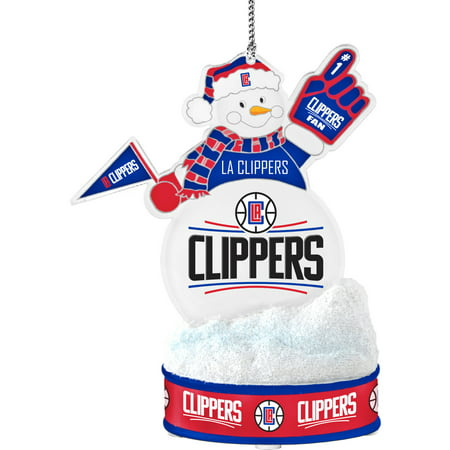 Topperscot by Boelter Brands NBA LED Snowman Ornament, Los Angeles Clippers by