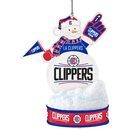 Topperscot by Boelter Brands NBA LED Snowman Ornament, Los Angeles Clippers