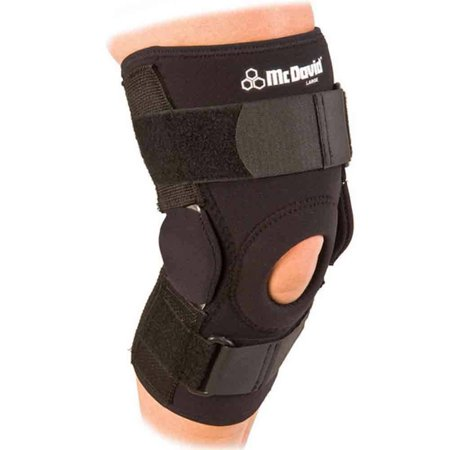 McDavid Classic Logo 422 CL Level 3 Knee Brace W/ Dual Disk Hinges - Black -