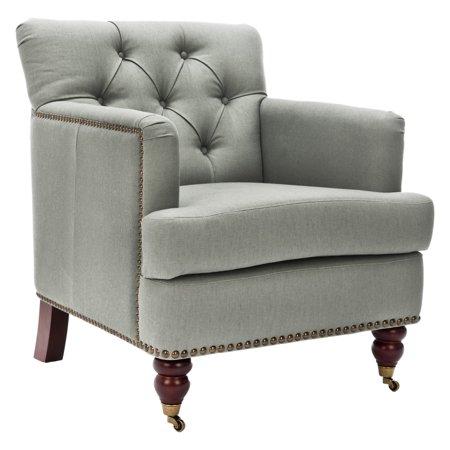 Safavieh Colin Tufted Club Chair - Emeco Hudson Chair