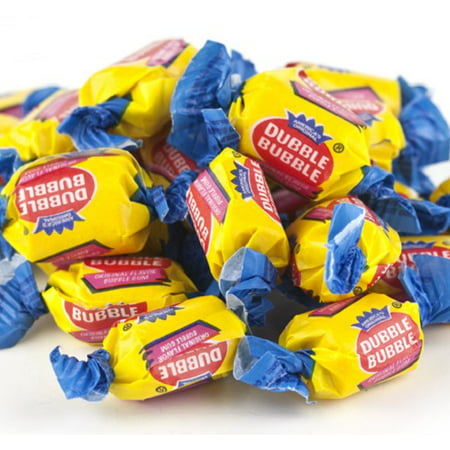 Dubble Bubble Original Bubblegum nostalgic bubble gum 2 pounds (Bubble Gum Cigars)