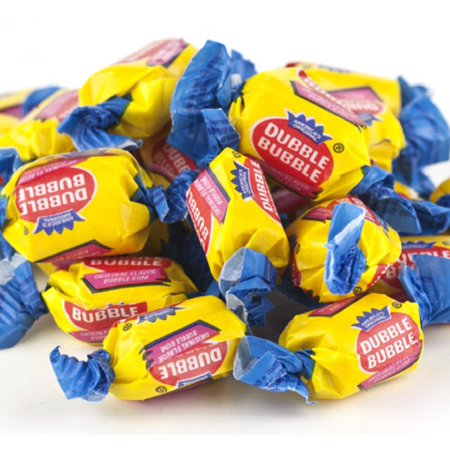 Dubble Bubble Original Bubblegum nostalgic bubble gum 2 pounds