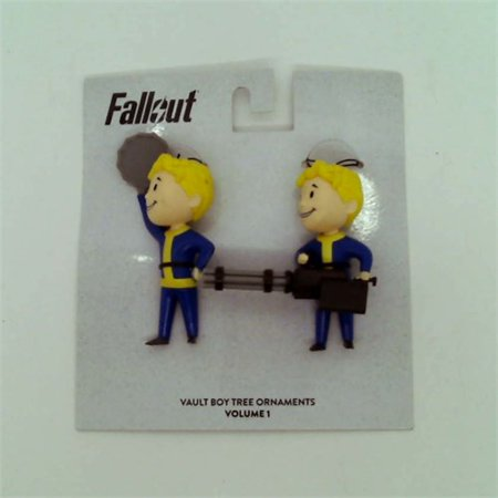 Fallout Numskull Vault Boy Tree Ornaments Volume 1 - Fallout Vault Suit For Sale