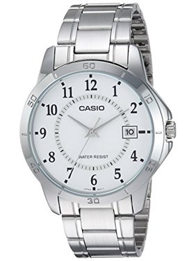 9cd966767 Product Image MTP-V004D-7B White Dial Stainless Steel Watch. Casio