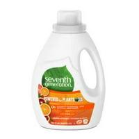 Seventh Generation Liquid Laundry Detergent, Fresh Citrus scent, 66 Loads, 100 oz