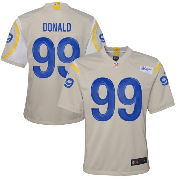 Aaron Donald Los Angeles Rams Nike Youth Game Jersey - Bone