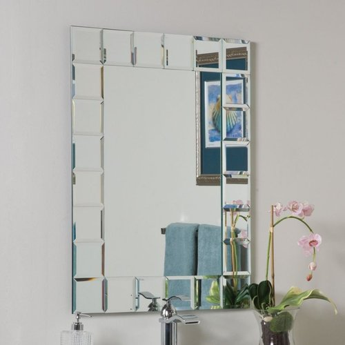 Decor Wonderland SSM414-1 Montreal Modern Bathroom Mirror