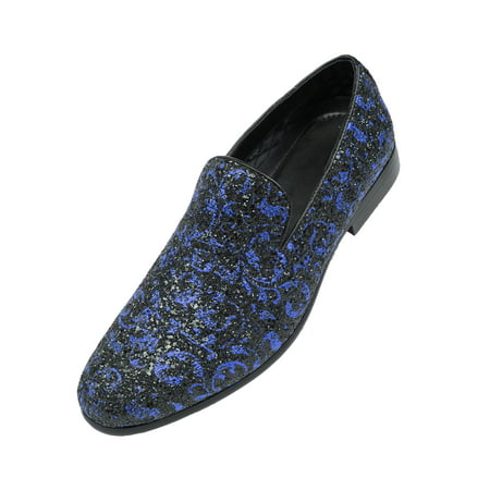 a1be0c289d3 Amali - Amali Men s Metallic Slip On Smoking Slippers in Paisly ...
