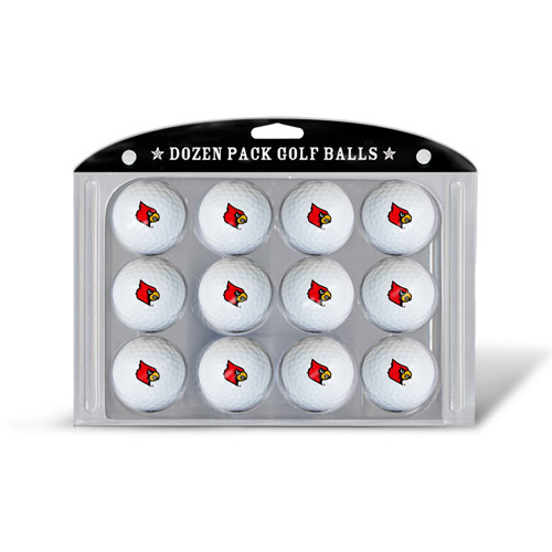 Team Golf NCAA Louisville Golf Balls, 12 Pack