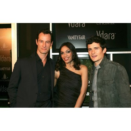 - Sebastian Copeland Rosario Dawson Orlando Bloom At Arrivals For Vdara Hotel & Spa Grand Opening Gala Vdara Hotel & Spa Las Vegas Nv December 1 2009 Photo By James AtoaEverett Collection Celebrity