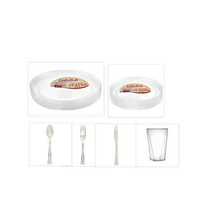 Embellish Scroll Clear Plastic 10