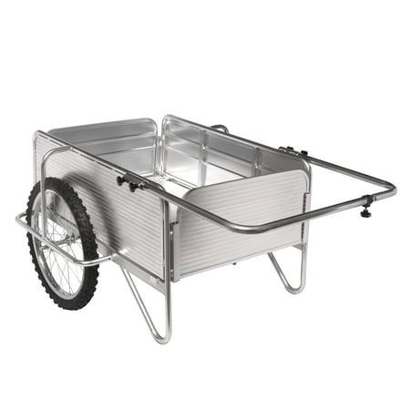 Sun Joe SJ-ALGC Aluminum Garden Cart