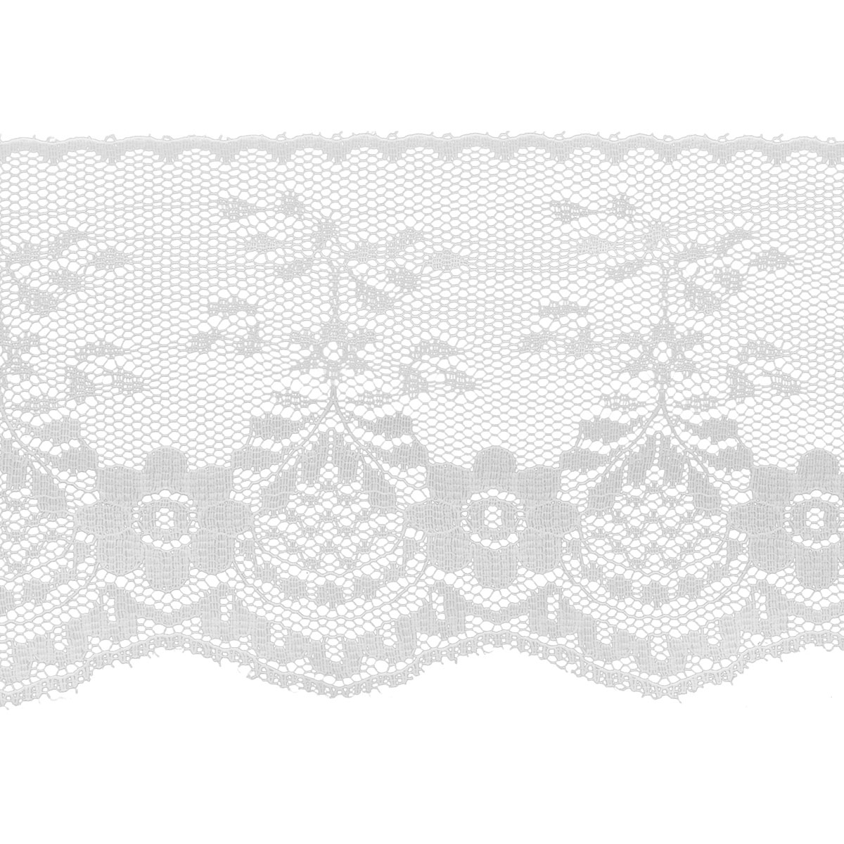 "Fancy Lace 3 - 1/2"" X 12yd - White"