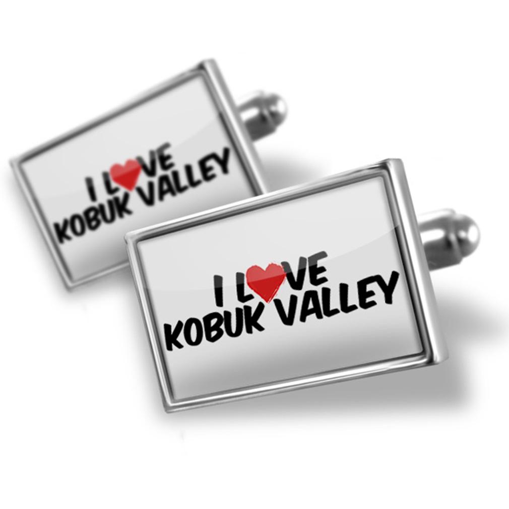 Cufflinks I Love Kobuk Valley - NEONBLOND