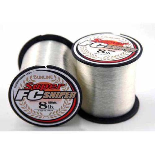 Sunline Super FC Sniper Fluorocarbon Fishing Line, Natural Clear, 660 Yards
