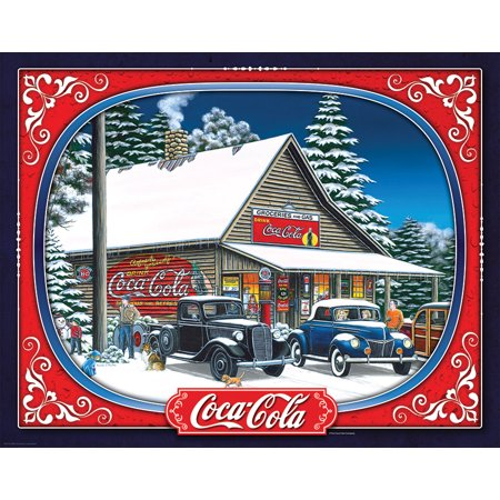 Springbok Coca-Cola Holiday Tidings 1500 Piece Jigsaw Puzzle