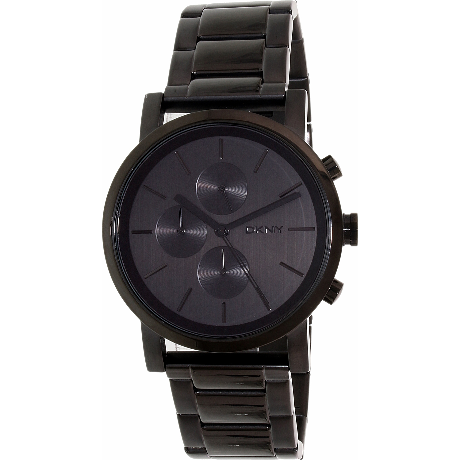 Dkny Men's Soho NY2163 Black Stainless-Steel Quartz Fashion Watch