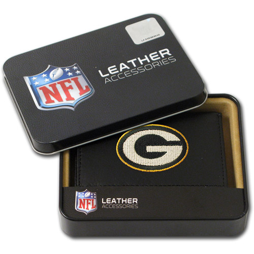 NFL - Men's Green Bay Packers Embroidered Trifold Wallet
