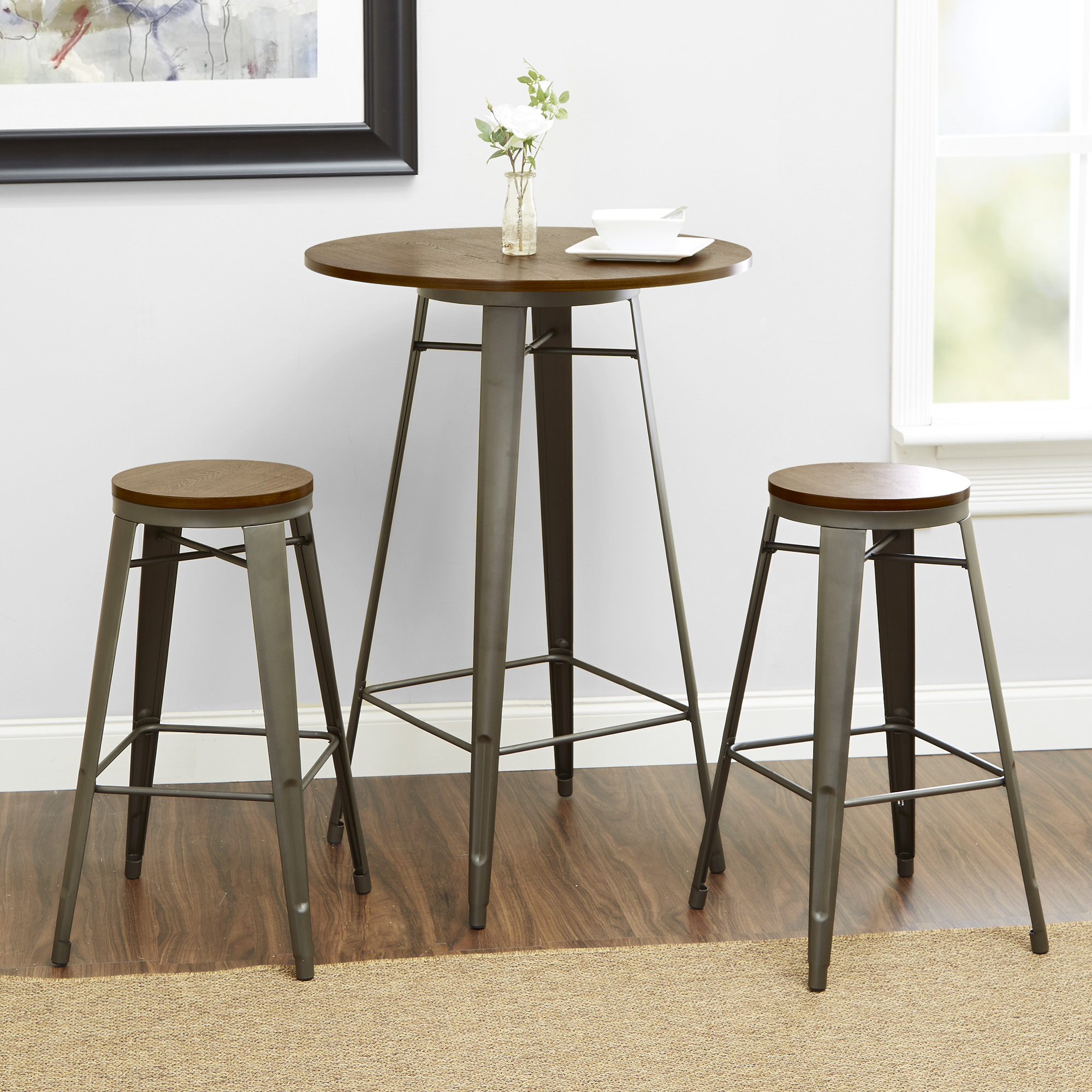 Better Homes And Gardens Harper 3 Piece Pub Set, Multiple Colors    Walmart.com