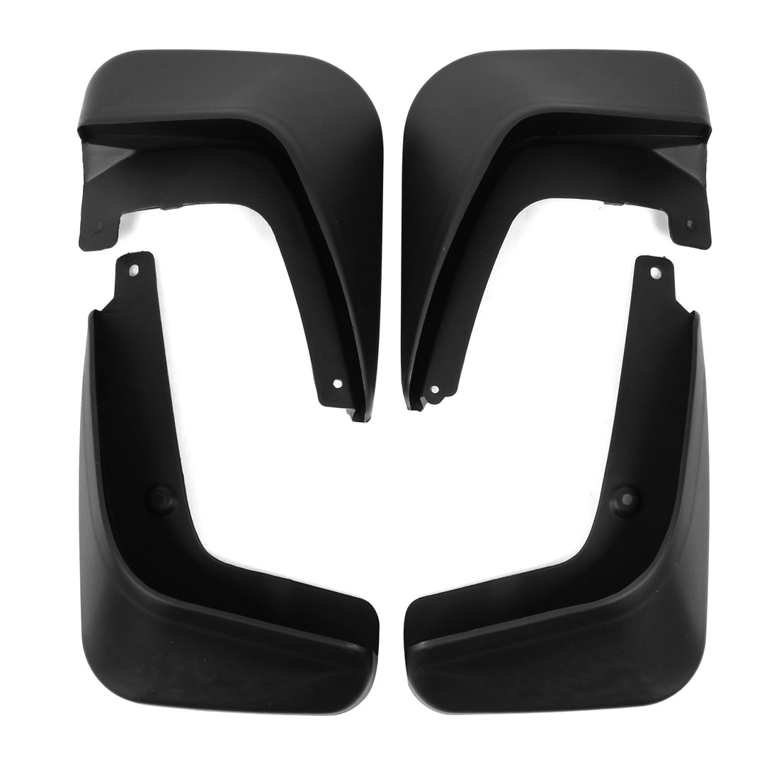 New Mudguard Splash Guards Mud Flap 4Pcs Set Black for Emgrand