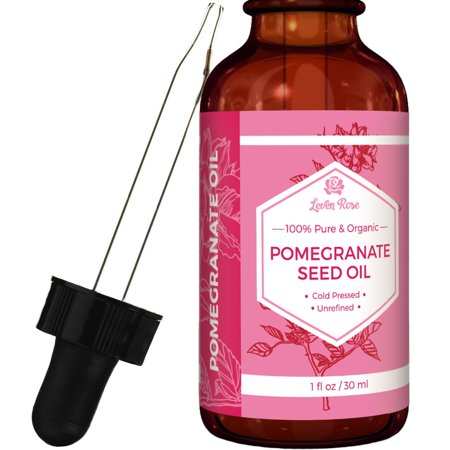 Leven Rose Organic Pomegranate Seed Oil, 1 Fl Oz (Best Way To Seed A Pomegranate)