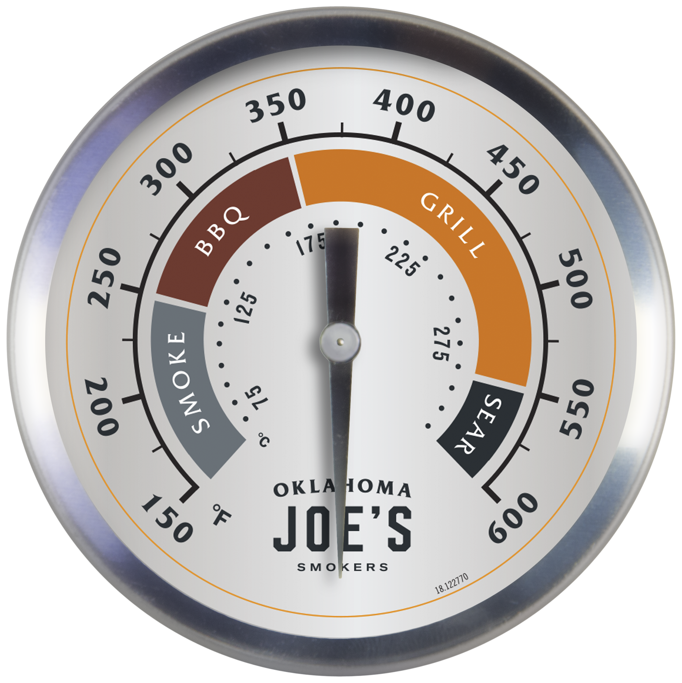 "Oklahoma Joe 3"" Smoker Temperature Gauge"