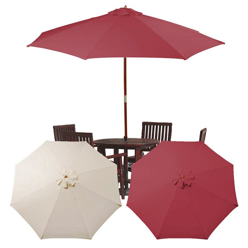 Hot Sale New 8 Feet Umbrella Replacement Canopy 8 Rib Outdoor Patio