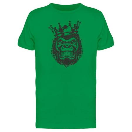 4fc92d71 Teeblox - Angry Gorilla King Tee Men's -Image by Shutterstock - Walmart.com