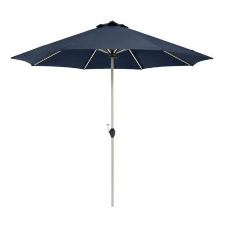 Montlake Aluminum Patio Market Umbrella - Heather Indigo