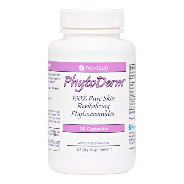 Phytoderm 100 Pure Skin Restoring Anti Aging Phytoceramides 350mg Walmart Com Walmart Com