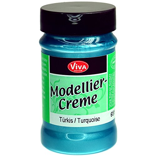 Viva Decor Modeling Creme, 90gm, Turquoise Multi-Colored