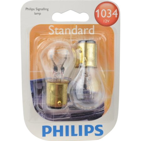 Philips Standard Miniature 1034, Pack of 2