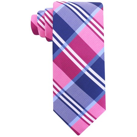 Scott Allan Mens Buffalo Plaid Necktie