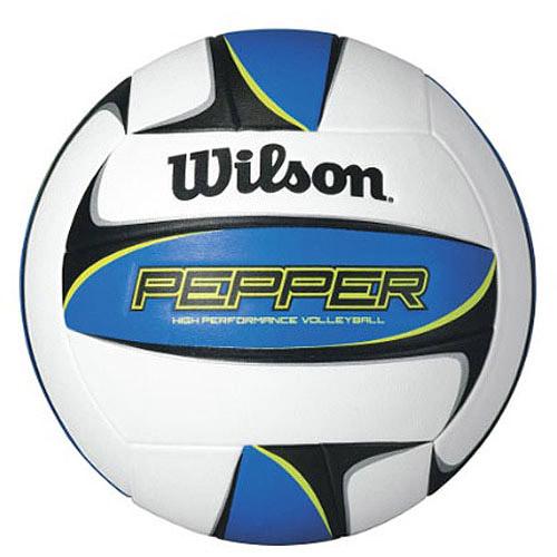 Wilson Pepper Volleyball, White