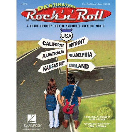 Destination Roll (Hal Leonard Destination Rock 'n' Roll (Choral Revue) 2 Part Singer Arranged by Mark Brymer)