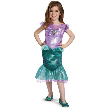 Ariel The Little Mermaid Disney Toddler Classic Toddlers Costume](Mermaid Costume Toddler)