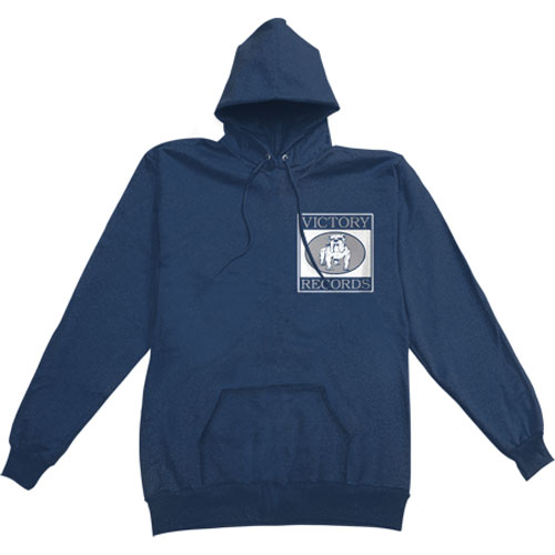 Terror Men's  Live By The Code Blue Hooded Sweatshirt Blue