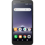AT&T PREPAID Alcatel INSIGHT 16GB Prepaid Smartphone, Suede Black
