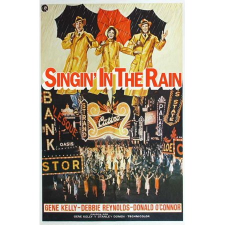 - Singin' In The Rain - movie POSTER (International Style A) (11