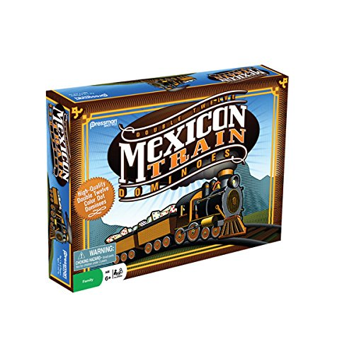 Dominoes: Mexican Train Game, USA, Brand Pressman Toy by