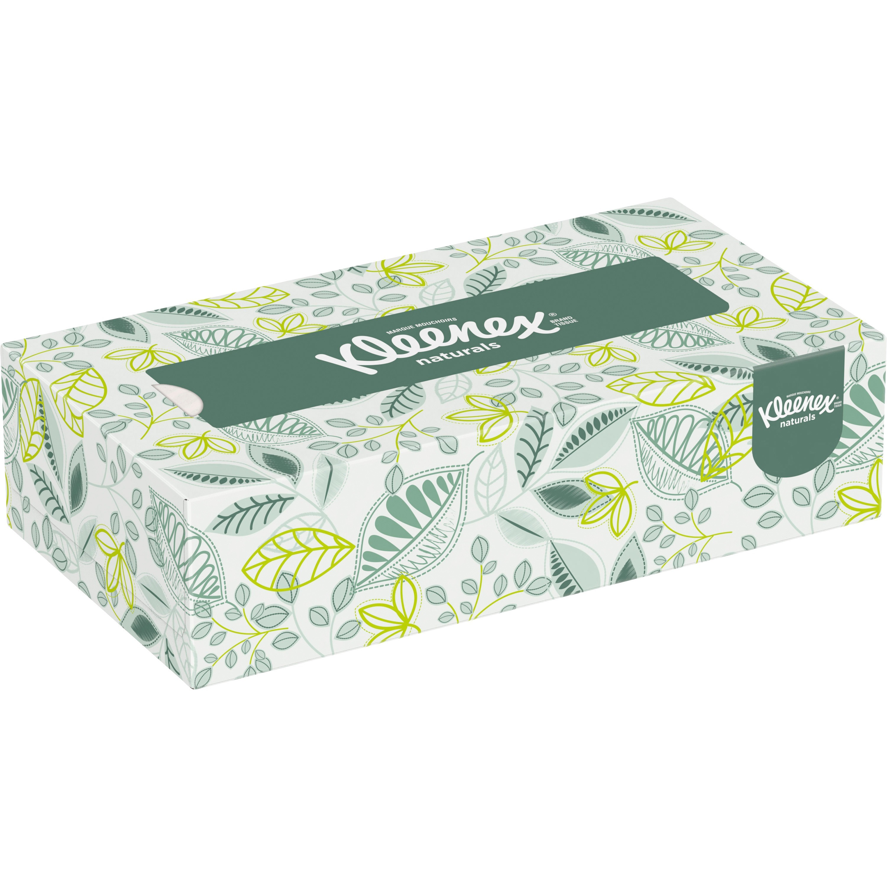Kleenex, KCC21601CT, Naturals Facial Tissue, 48 / Carton, White