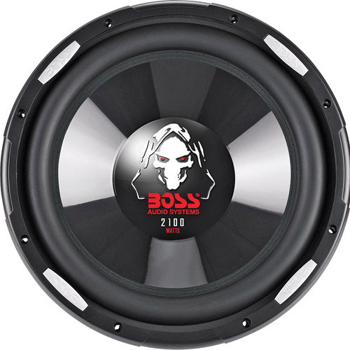 Boss Audio Dual 4-Ohm Voice Coil Subwoofer (One Subwoofer)