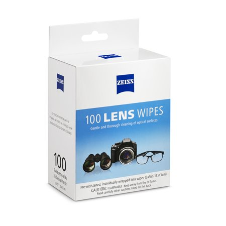 ZEISS Lens Wipes, 100ct (Carl Zeiss Sonnenbrille)