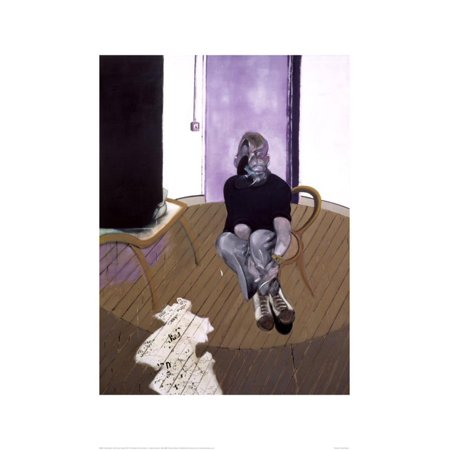 Self Portrait Seated, c.1973 Art Print By Francis Bacon - 19.5x27.5