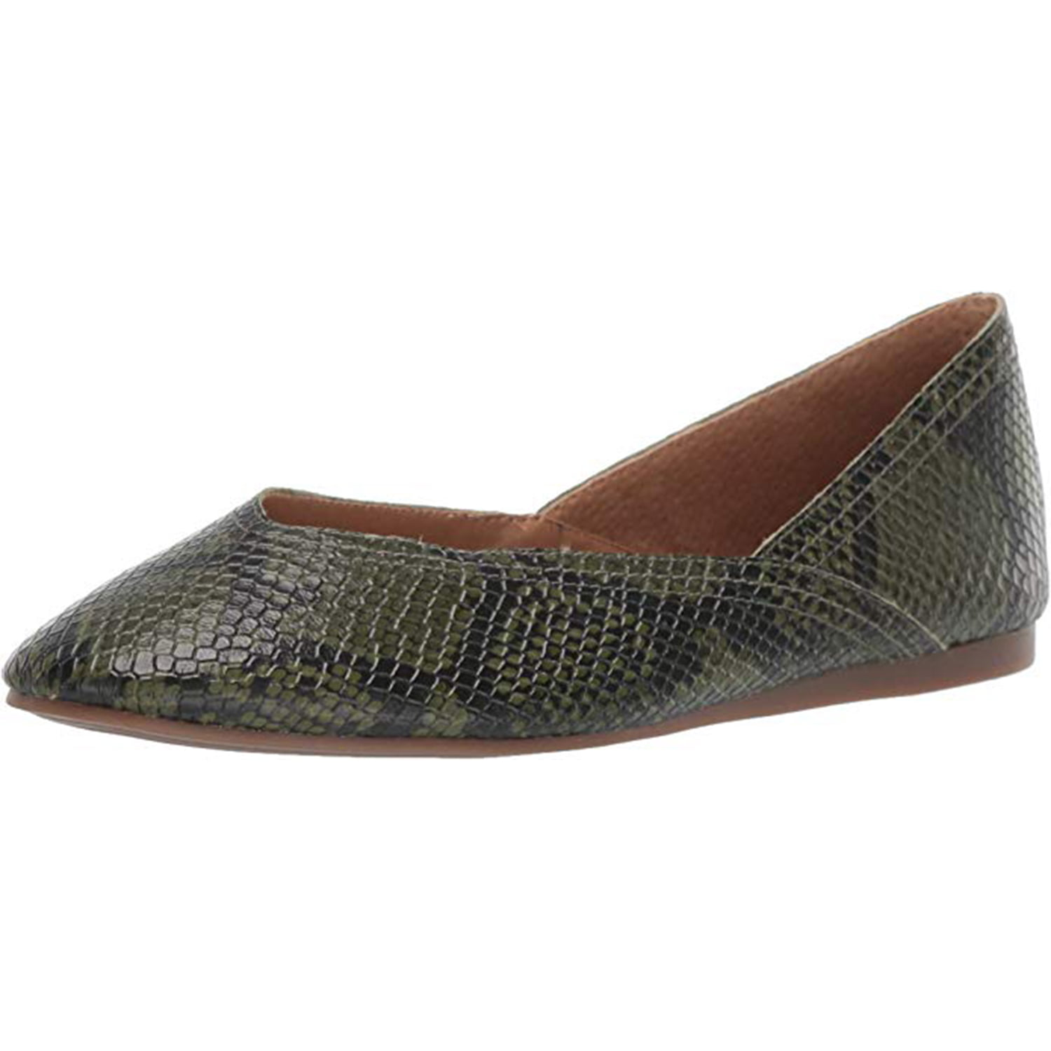 Lucky Brand Women's Alba Leather Closed