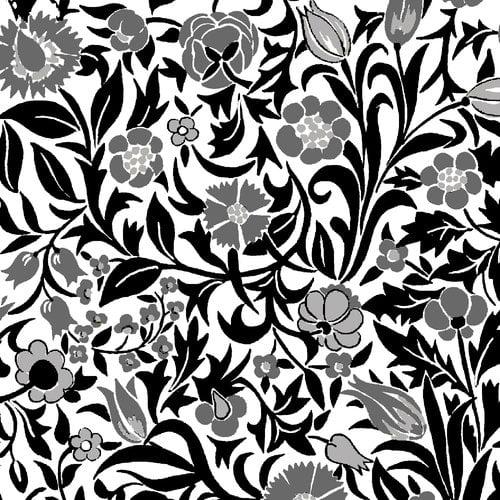Cranston VIP Fabrics Colorworks Floral Vine Fabric